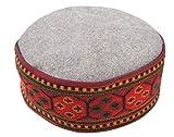 Krystle Premium Himachali Woolen Cap Unisex (Pahari Cap, Multicolor)