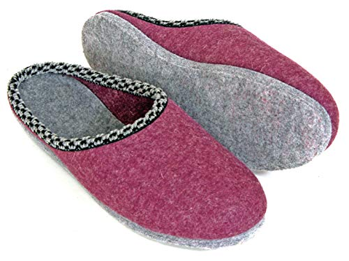 Zapatillas de Fieltro Sola - baya 42