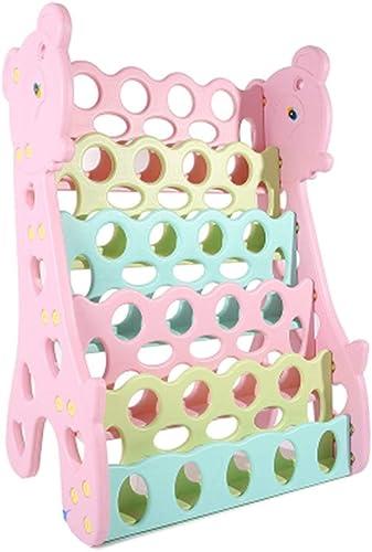 Libreria Estantería para Niños Estante Simple para Piso Estante De Almacenamiento para Bebés Estantería Revistero Multifunción Muebles Decorativos Muebles Infantil