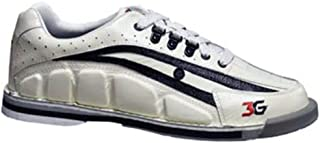 Bowlerstore Products 3G Mens Tour Ultra Bowling Shoes Right Hand- White/Black