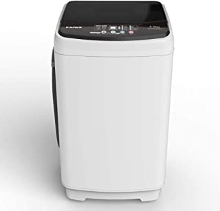 Compact Washing Machine, KAPAS Fully Automatic 2-in-1 Washer & Air Spin Drying Machine with 11 LBS Capacity Top Load Tub W...