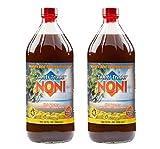 TAHITI TRADER Original High Potency Noni 32 oz (2 Pack) - Pure Noni Juice - Noni Tahiti Juice - Juice Noni - Tahiti Juice - Noni Fruit Juice - Noni, Blueberry and Raspberry Juice Blend