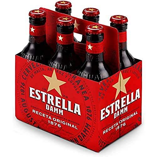 Damm Cerveza Estrella, 6 uds