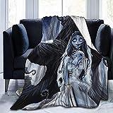 NotApplicable Blanket Novia De Cadáver Manta De Tiro Ultra Suave Adultos Manta De Vellón Sofá Cama Niños Cálidos 3 Tamaños Todas Las Estaciones Adolescente Niño Niña 127X102cm