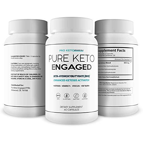 Pure Keto Engaged Weight Loss - Help Accelerate Your Keto Diet with Bhb - Magnesium Bhb Formula for Faster Fat Burn and Longer Ketosis Intervals to Help You Improve Your Keto Diet 7