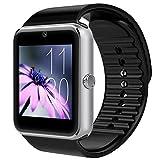 Montre Connectée, Padgene Smartwatch Bluetooth avec Slot SIM Caméra Podomètre pour...
