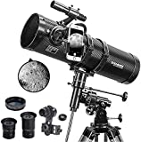 Best Telescopes - Telescope, Polaris 130EQ Newtonian Professional Astronomical Reflector Telescope Review