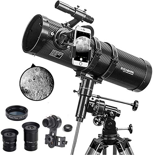 powerful Telescope Polaris 130EQ Newtonian Professional Astronomical Reflector Telescope Delivery with…