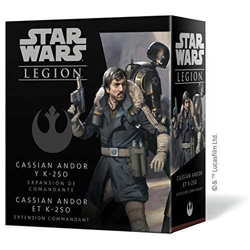 Fantasy Flight Games- Star Wars Legion - Cassian Andor y K-2S0 Expansión de...