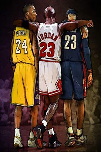Kopoo MVP of Basketball Game Poster, 24' x 36' (60 x 91.5 cm)