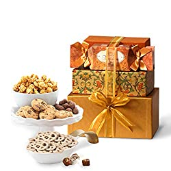 Valentine's Day Gourmet Chocolate Gift Set by Broadway Basketeers