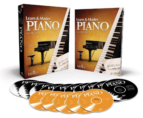 Learn & Master Piano Dvd/Cd/Book Pack