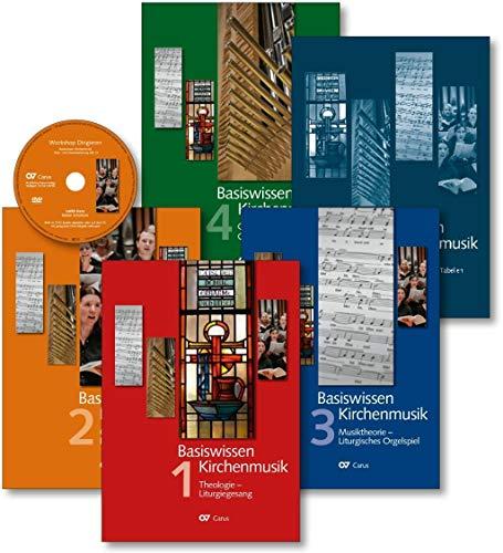 Basiswissen Kirchenmusik: Gesamtset (5 Bd + DVD)