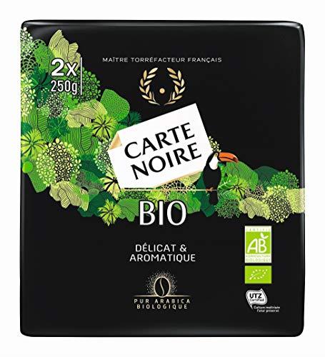 Carte Noire Café Moulu Bio 3kg (6 paquets de 500g)