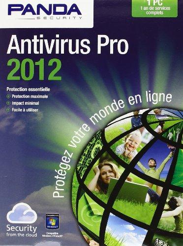 &Panda Antivirus Pro 2012 1Pc
