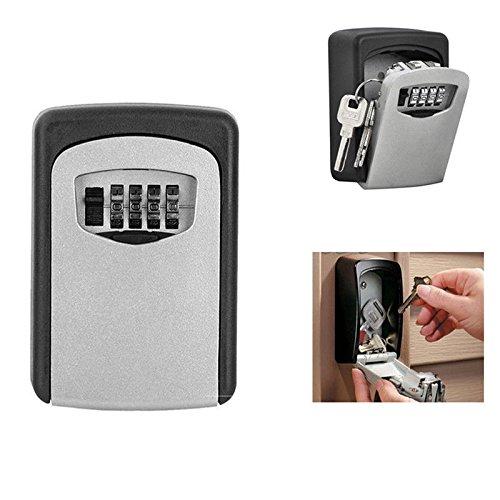 Schlüsselsafe Wandschlüsselsafe Zahlencode Keysafe Schlüsselbox Schlüsseltresor