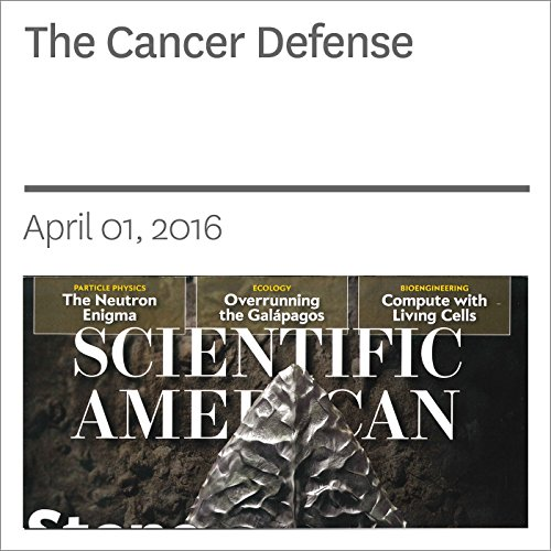 The Cancer Defense audiobook cover art