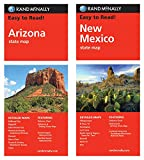 Rand McNally State Maps: Arizona and New Mexico (2 Maps)