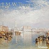 J.M.W. Turner 2021 - Wand-Kalender - Broschüren-Kalender - 30x30 - 30x60 geöffnet - Kunst-Kalender