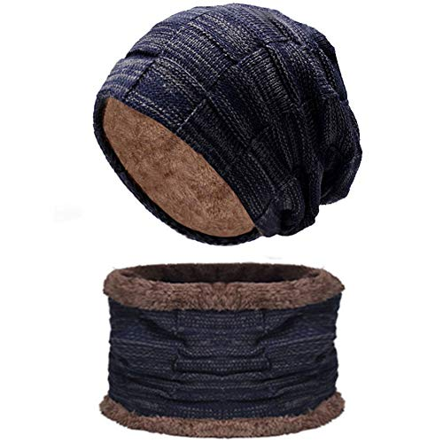 (50% OFF) Fleece Lined Knit Beanie and Scarf Set $9.99 – Coupon Code