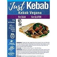JUST VEGAN   Kebab Sin SOJA   Sin GLUTEN   100% Vegetal   Plant Based   Vegano   165g