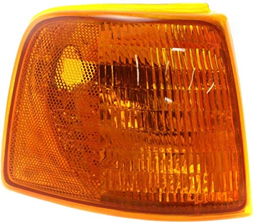 I-Match Auto Parts Right Passenger Front Corner Side Marker Light Lens And...