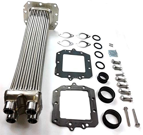 TamerX 2513445C91 High Temp Side EGR Cooler Insert Kit for 2011-2015 International MaxxForce 11 and MaxxForce 13 Applications