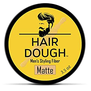 Beauty Shopping Hair Dough Styling Clay For Men, Matte Finish Molding Hair Wax Paste Quiff, Strong