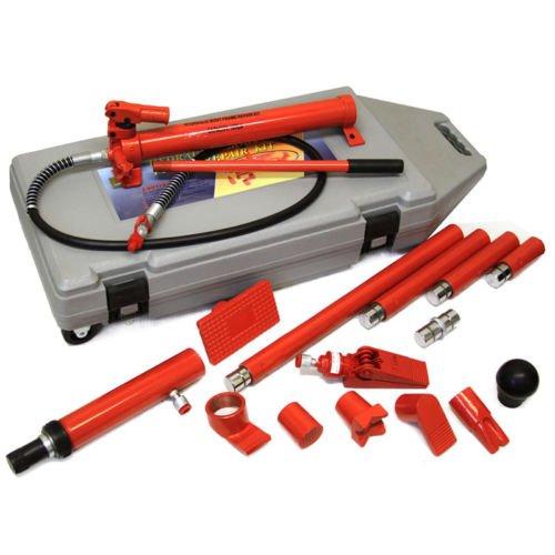 10 Ton Jack Lift Ram Porta Power Hydraulic Repair Kit Crane Auto Shop Tool