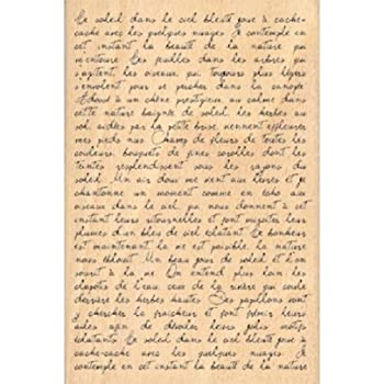 Floril/èges FHA208074 Sello Dise/ño Scrapbooking Texto manuscrito Beige 15 x 10 x 2,5 cm