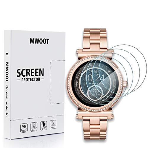 MWOOT Cristal Templado Compatible con Reloj Michael Kors Acc