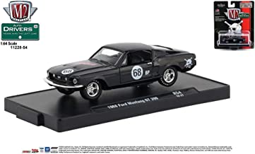 M2 Machines Auto-Drivers 1:64 R54 1968 Ford Mustang GT 350 (LUNATI)