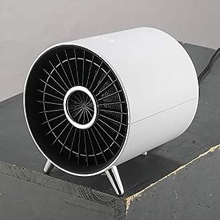 Mini Calentador CTJ Mini Hogar de Ahorro de energía del radiador del Calentador del Calentador eléctrico de Calentamiento de Aire del Ventilador (Rosa) (Color : Blanco)