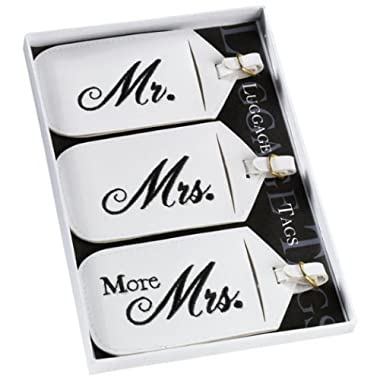 Lillian Rose 3-pc. Mr. & Mrs. Luggage Tag Set