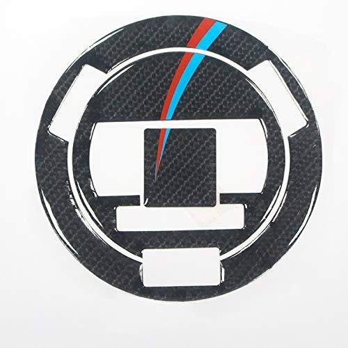 Qwjdsb Für BMW S1000R, Motorrad Kohlefaser Kraftstofftank Schutzhülle Aufkleber Schutzaufkleber Kraftstofftank Einfülldeckel Aufkleber Motorrad Aufkleber