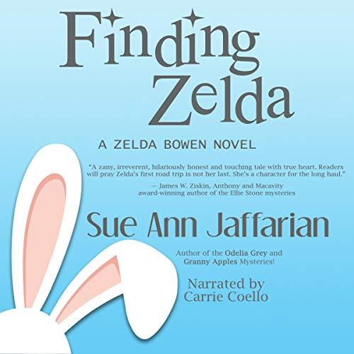 Finding Zelda Audiobook By Sue Ann Jaffarian cover art
