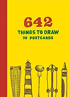 642 Things to Draw: 30 Postcards (Interactive Postcards, Unique Customizable Postcards for Artists)