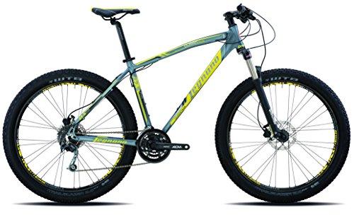 Legnano Ciclo 900 Duran Plus Deore, Mountain Bike Unisex – Adulto, Grigio, 44
