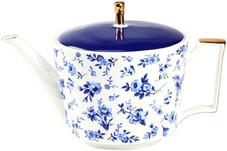 MLMHLMR Ensemble De Tasse à Café Ensemble De Thé Bleu De Porcelaine Européenne Service à café (Taille   B)