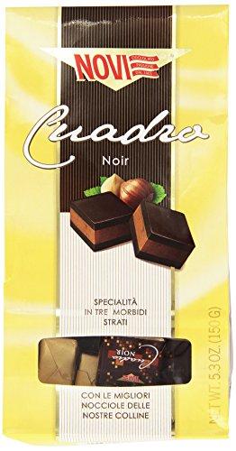 Novi Pralina di Cioccolato alle Nocciole e al Cacao Magro, 150g