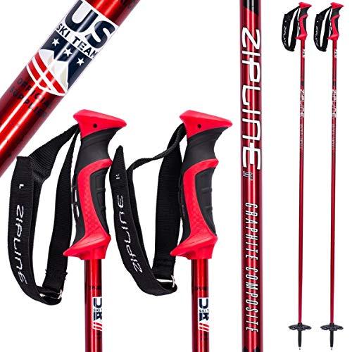 Ski Poles Graphite Carbon Composite - Zipline Blurr 16.0 - U.S. Ski Team Official Supplier