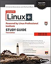 [1119021219] [9781119021216] CompTIA Linux+ Powered by Linux Professional Institute Study Guide: Exam LX0-103 and Exam LX0-104 (Comptia Linux + Study Guide) 3rd Edition-Paperback