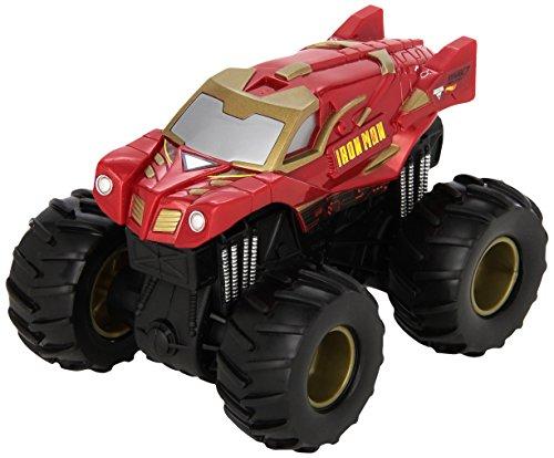 Mattel Hot Wheels CHV35 vehículo de juguete - Vehículos de juguete (Multicolor, Camión, Monster Jam, Iron Man, 3 año(s), China)