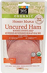 365 Everyday Value, Organic Honey Maple Uncured Ham, 6 oz