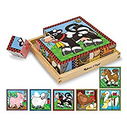Melissa & Doug Farm Cube Puzzle (blocks)