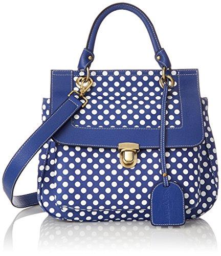 Laura Vita Damen Ducos Bowling Tasche Blau (Bleu)
