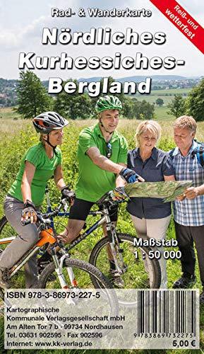 Nördliches Kurhessisches Bergland: Rad- und Wanderkarte (wetterfest)