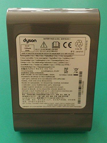 Batterie d'origine pour aspirateur Dyson DC35, DC35 Slim, DC 35 Multifloor, DC 35 DigitalSlim, DC44 Animal, 967863-03 64167-01, 22,2 V, 1 300 mAh, 30 Wh, Li-ion