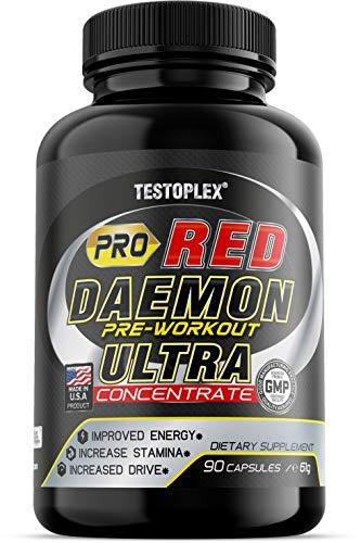 Pro Red Daemon Ultra Concentrate | Aminosäuren, Tribulus, Maca, Arginin, Zink, Ginkgo Biloba, Ginseng, Vitamine, Mineralien