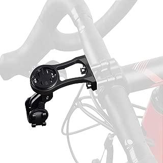 Extended Out-Front Bike Computer Mount,Aluminium Alloy Garmin Bicycle Handlebar Stem Holder for NiteRider Adapter, Gopro Sport Action Camera,Garmin K-edge 25 130 200 500 510 520 800 810 820 1000 1030